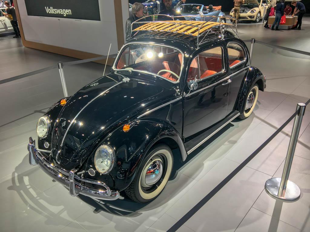 Sixties VW Beetle With Moon Roof