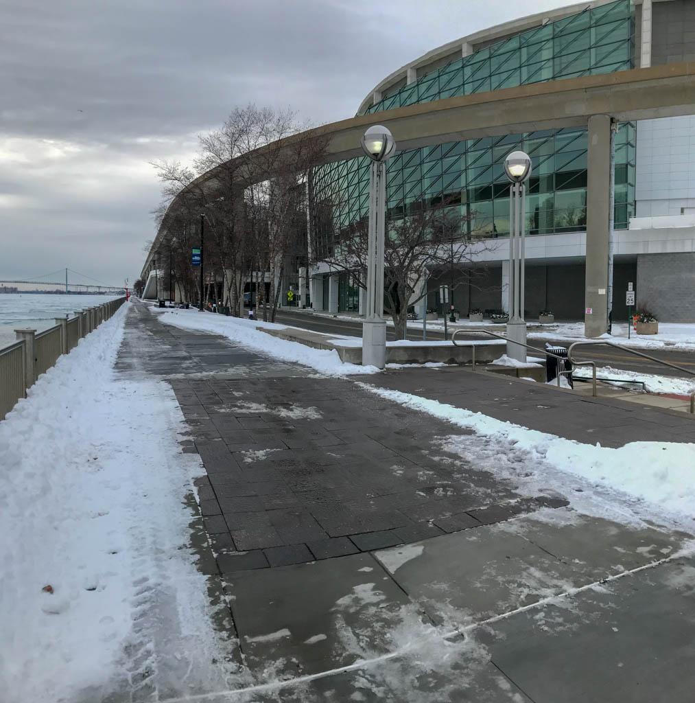 The COBO Center On The Detroit Riverwalk