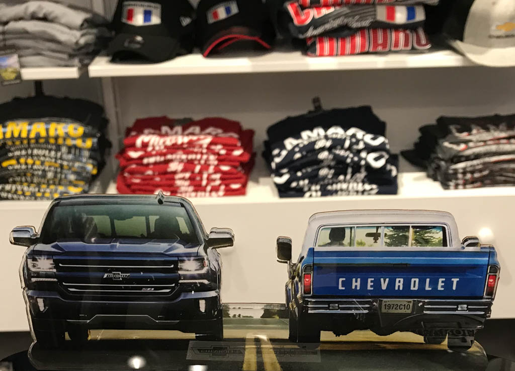 GM Company Store Display