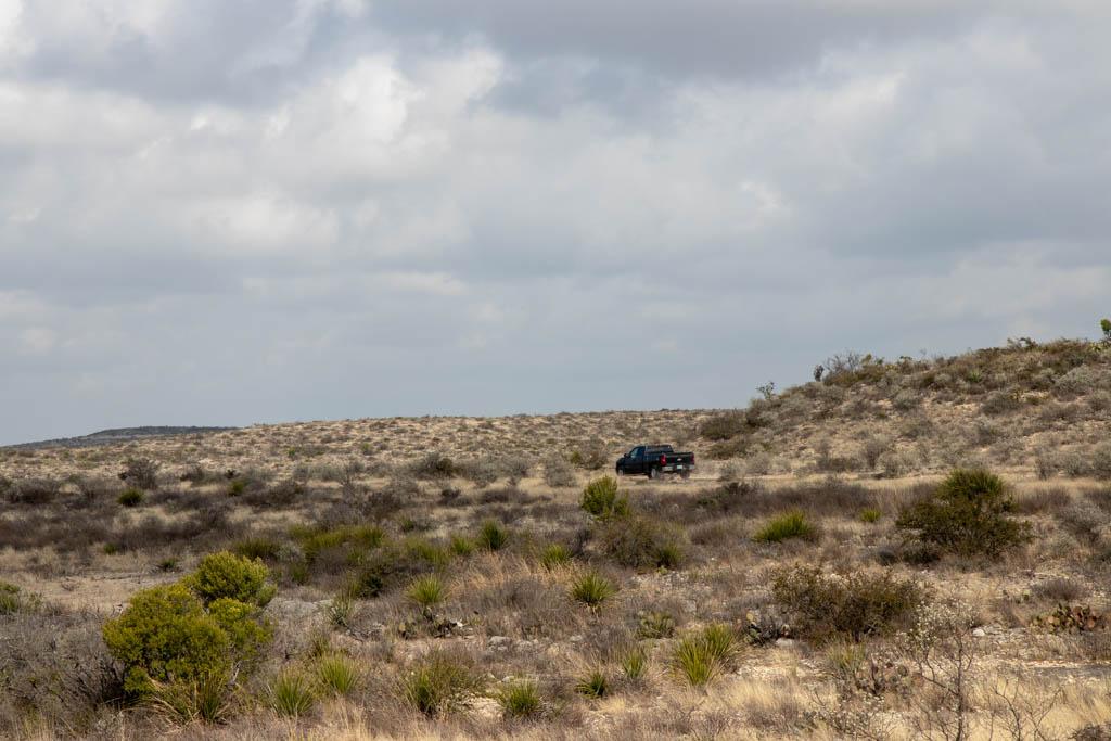 Ranch Road Winding Around Avoiding Canyons