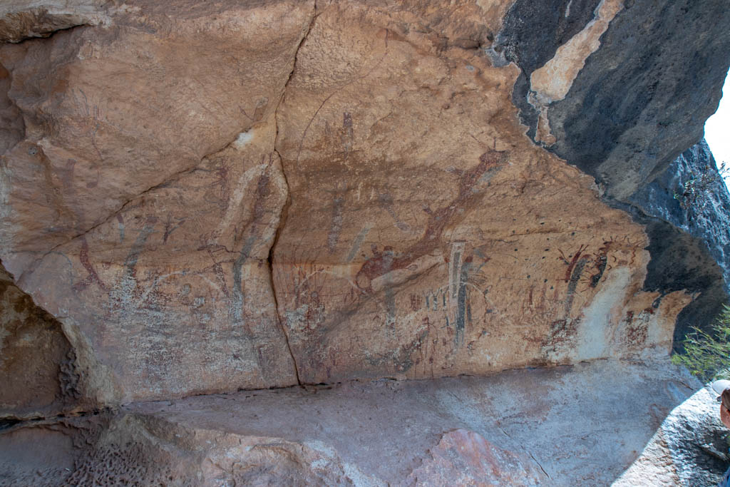 Main Pictograph Body At White Shaman Site