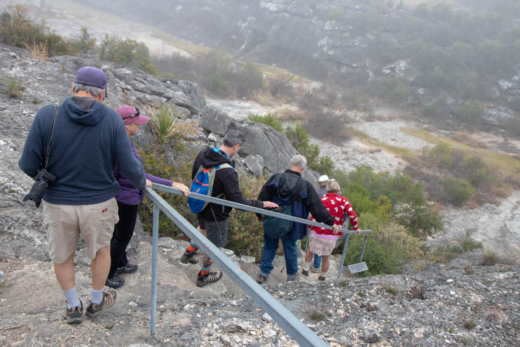 Stairs Down Into Seminole Canyon