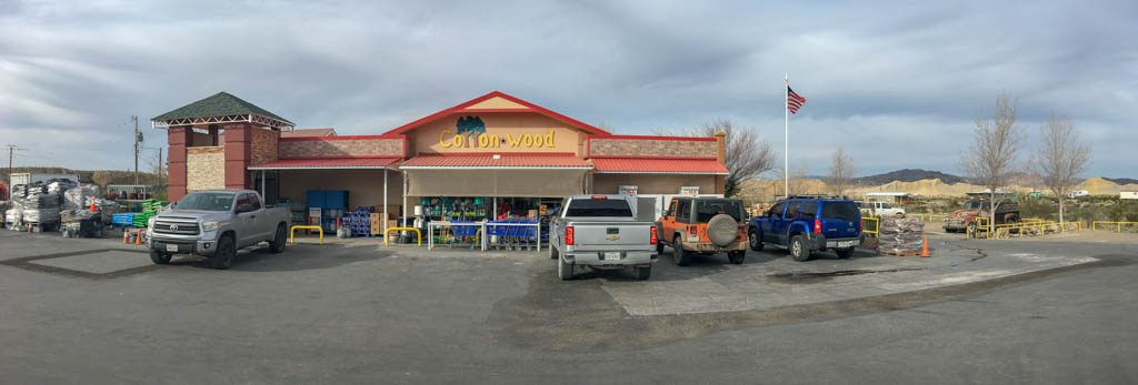 Cotton Wood Grocery Store, Study Butte Texas