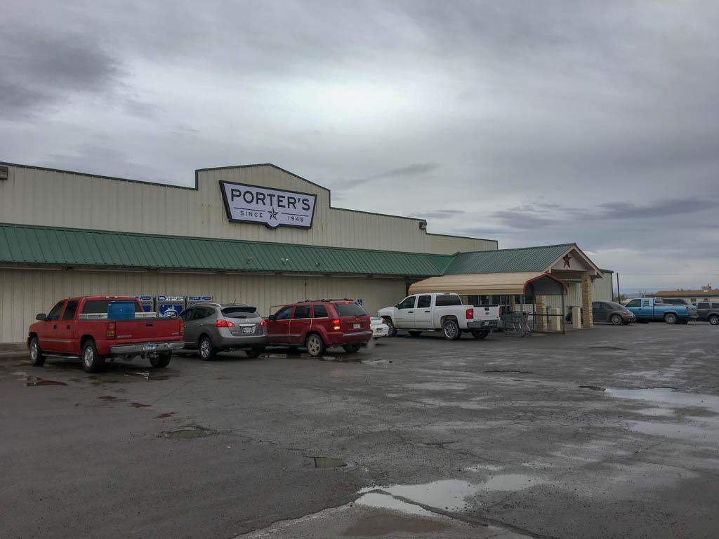 Porters Grocery Store In Presidio Texas