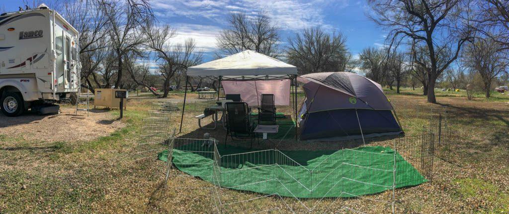 Rio Grande Village Campsite