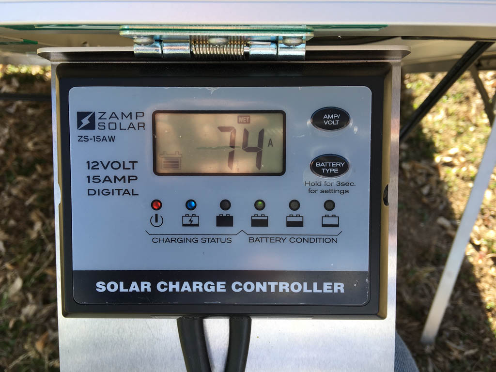 Zamp Portable Solar Panel Charge Controller