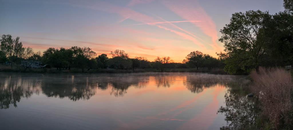 Sunrise Over Inks Lake