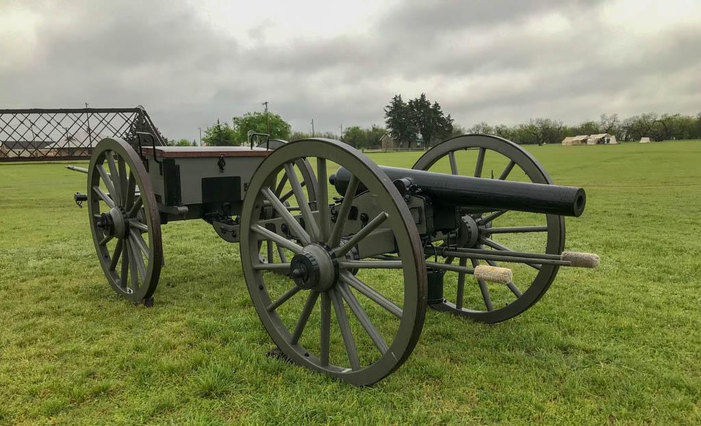 Reenactor Cannon