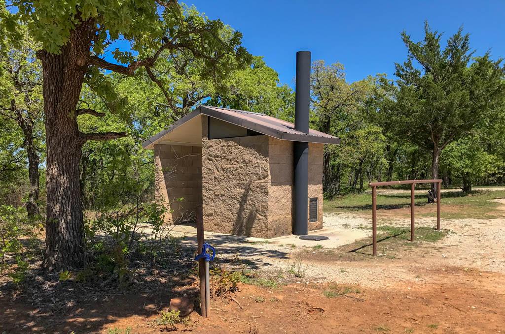 TADRA Point Vault Toilet