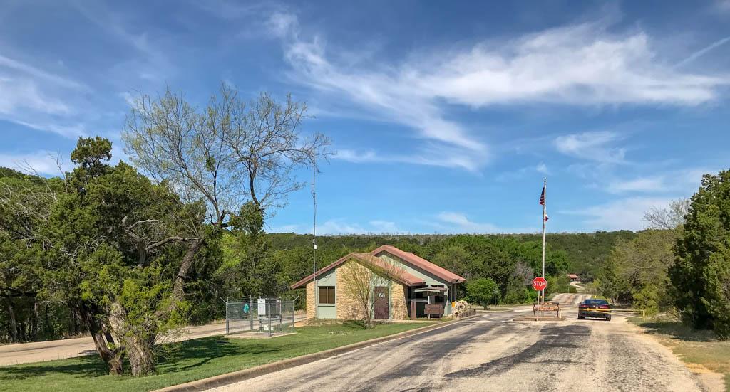 Possum Kingdom State Park Ranger Station