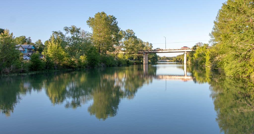 US-281 Bridge Across Blanco River