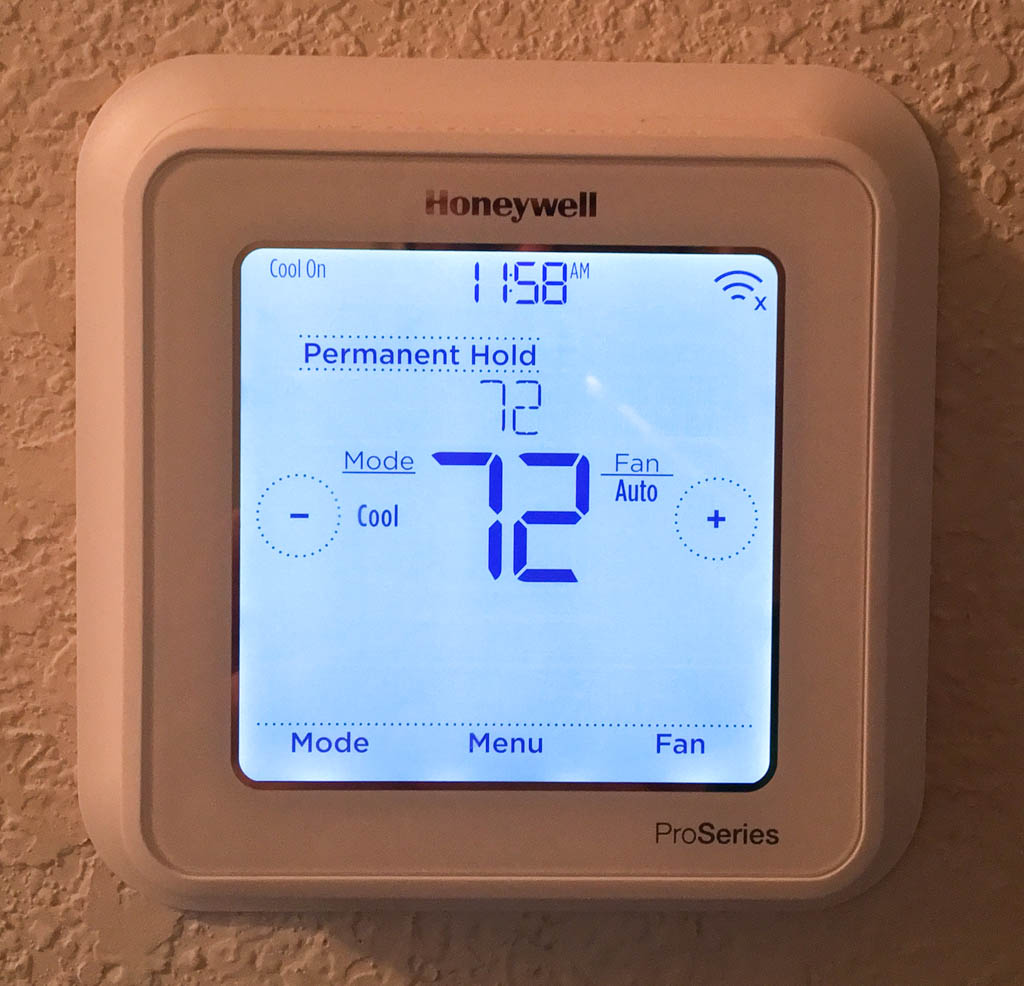 Intelligent Honeywell Thermostat