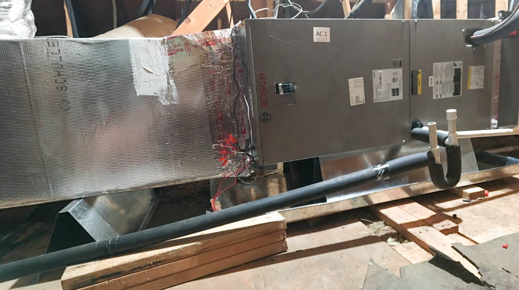 Clean Install of Bosch Heat Pump System