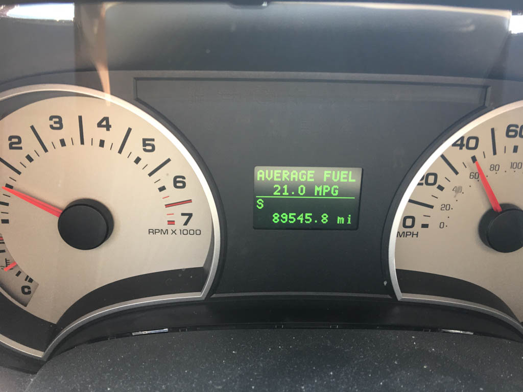 2010 Ford Explorer Reaches 21 MPG