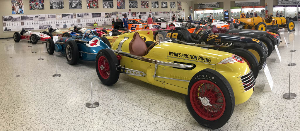 Winning Indy 500 Cars