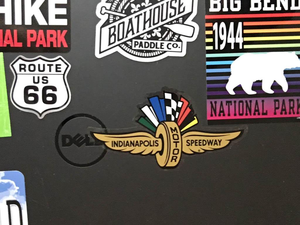 Indianapolis Motor Speedway Museum Sticker