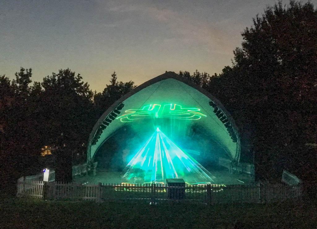 Amphitheater Laser Light Show
