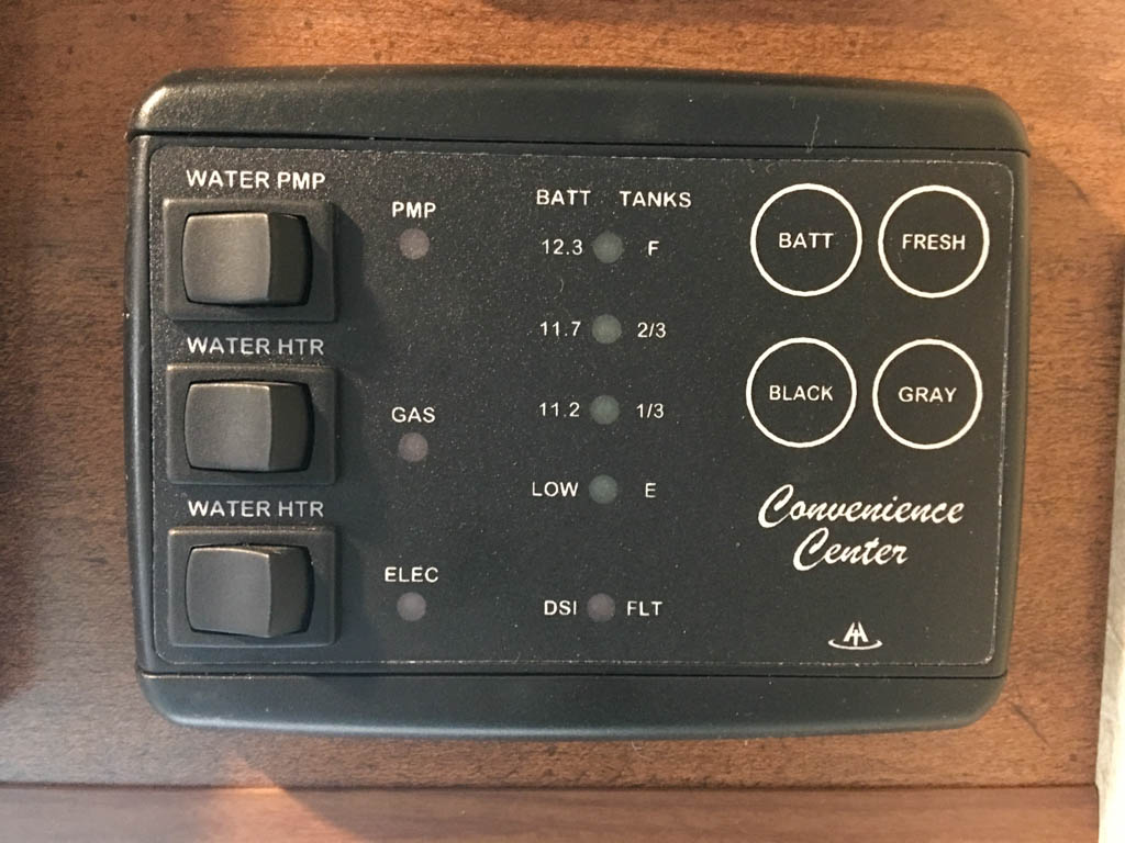 Convenience Center Water Heater Control Switches