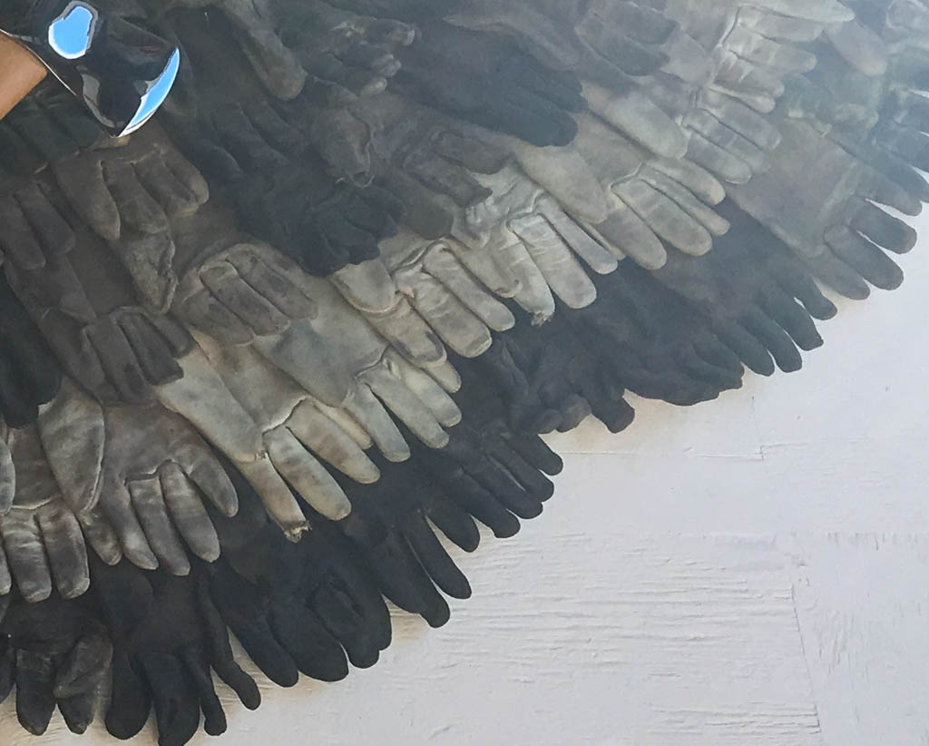 Wings Made From Old Gloves