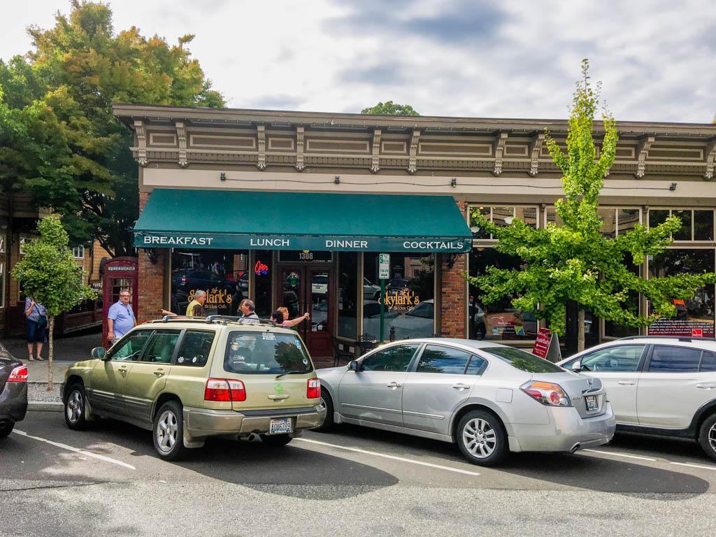 Skylark's Hidden Cafe In Fairhaven Historic District
