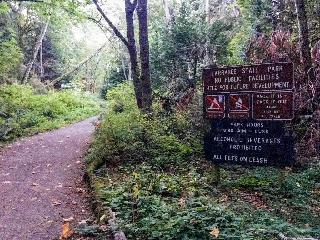 Signage Along Trail