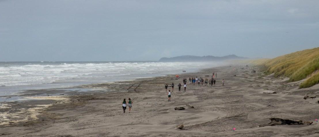 Beach Marathon Runners