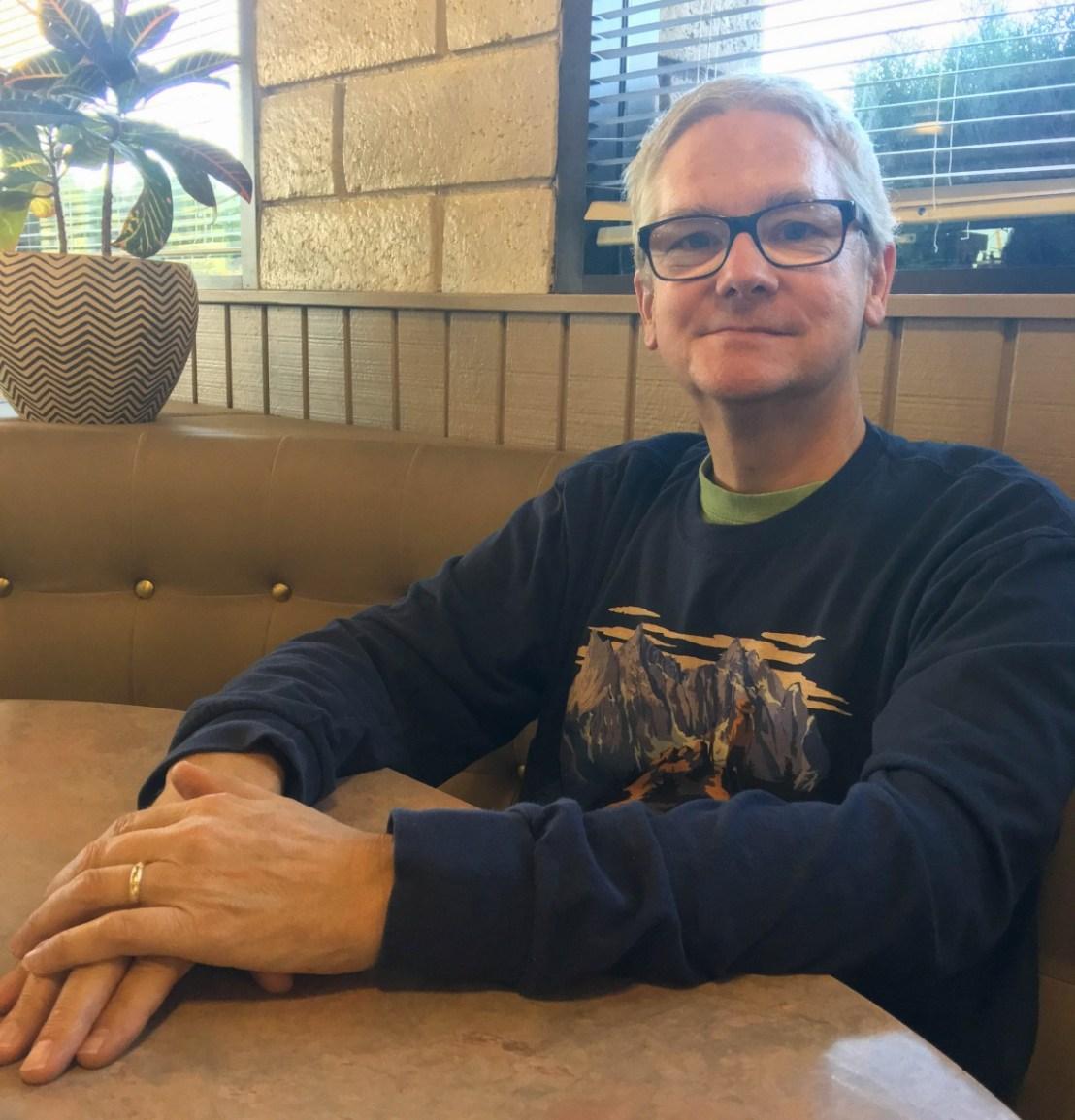 Larry At The Susanville El Tepeyac Grille