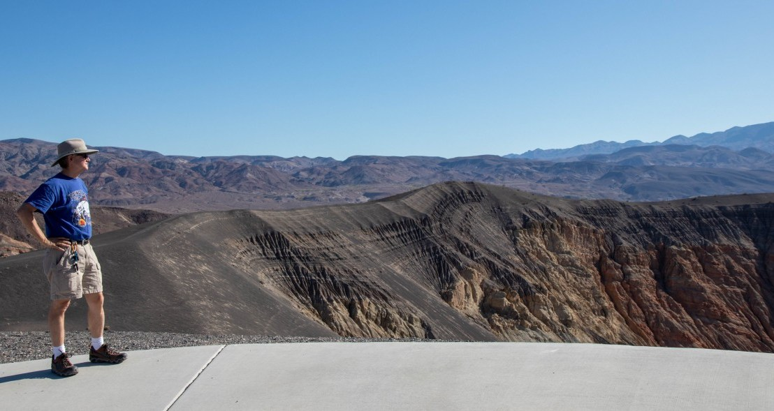 Death Valley National Park – Ubehebe Crater, Grapevine And Mesquite Spring