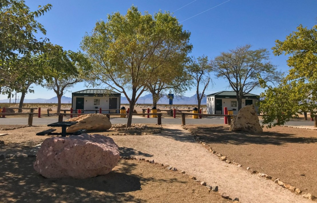 Amargosa Valley Rest Area