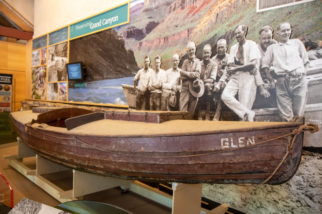 Powell Geographic Expedition River Boat Replica