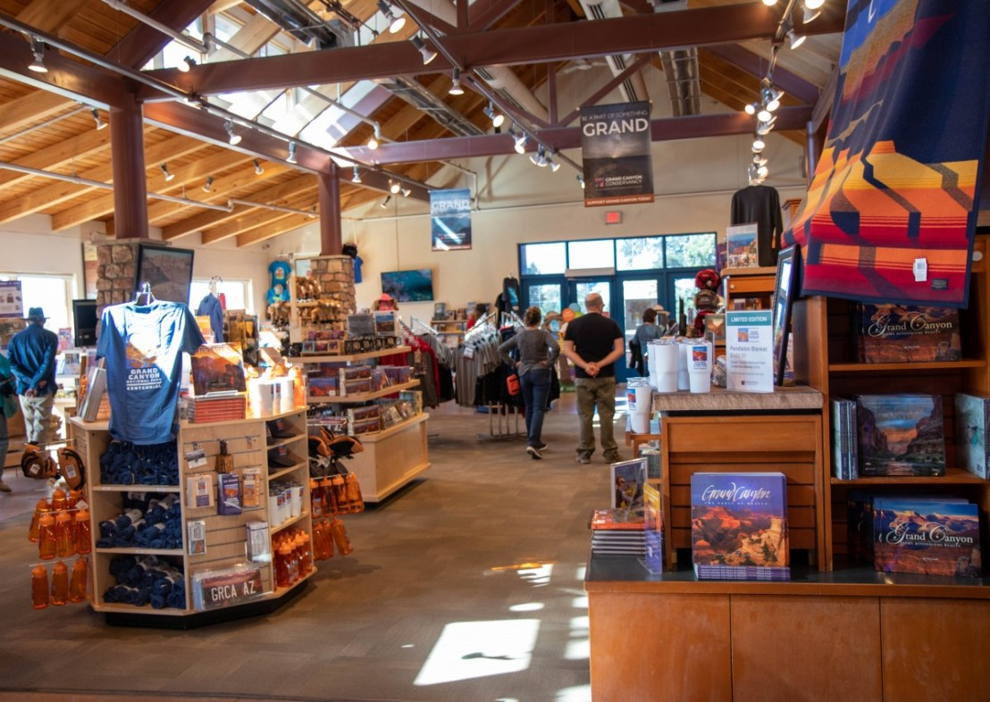 Grand Canyon Conservancy Park Store Interior