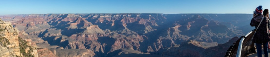 Grand Canyon View As Seem From Mather Point
