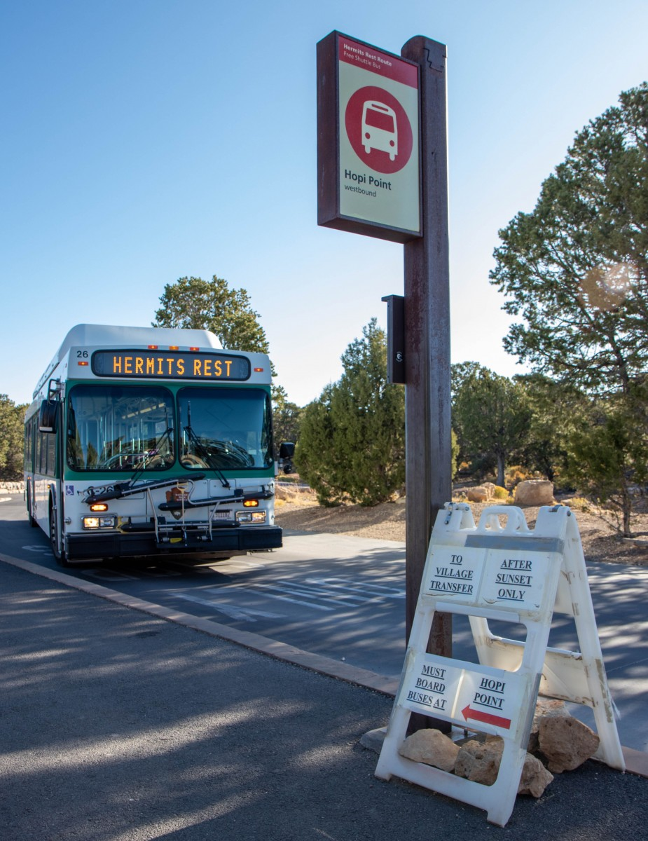 Hopi Point Bus Stop