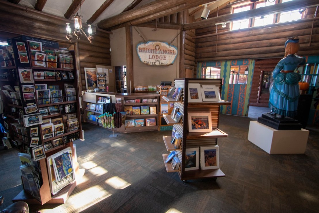 Bright Angel Lodge Gift Shop