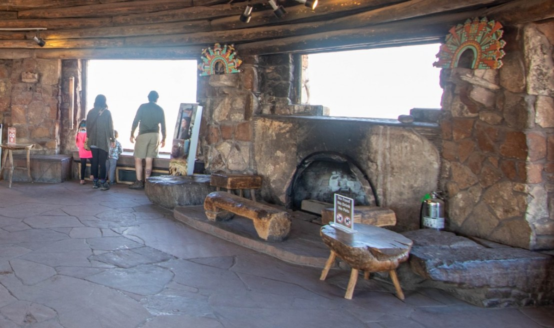 Desert View Watchtower Fireplace