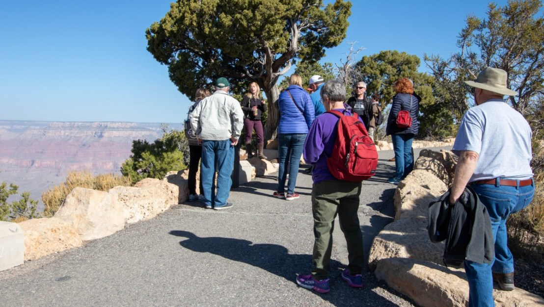 Grand Canyon National Park Guided Tour Group