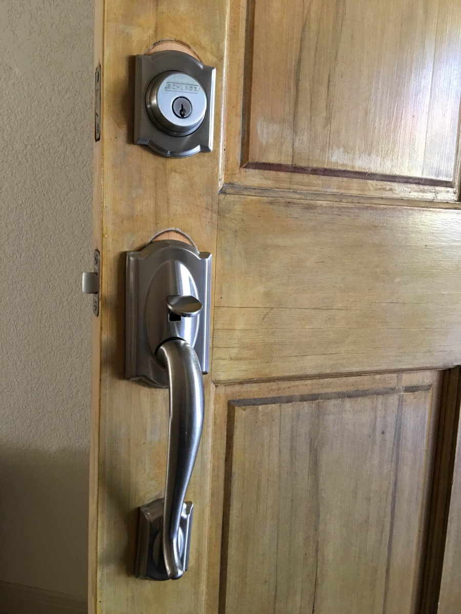 Front Door Lock Set