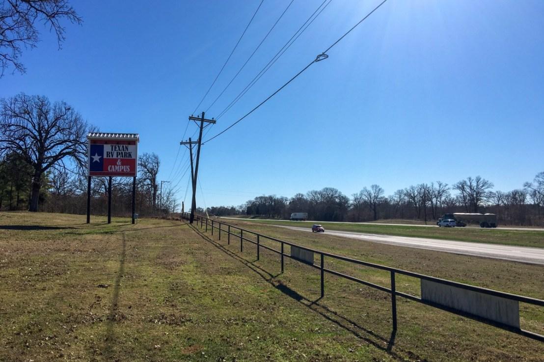 Texan RV Park in Athens, Texas