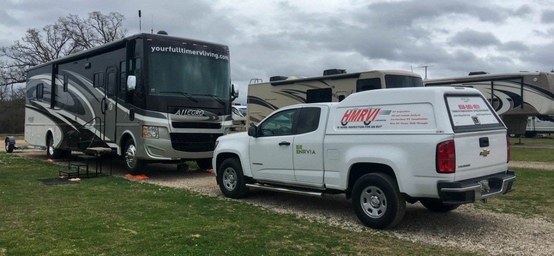 Howard and Pam Jaros' RV And Pickup