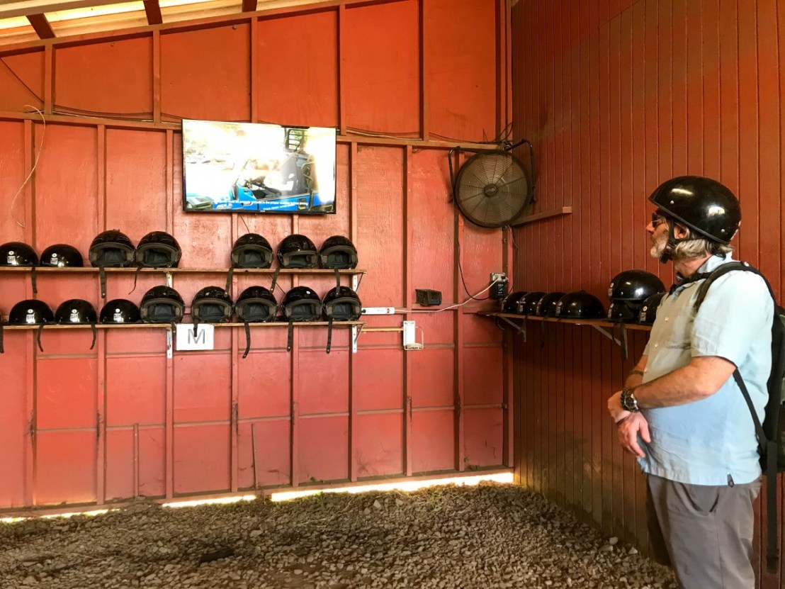 Safety Movie and Helmet Selection