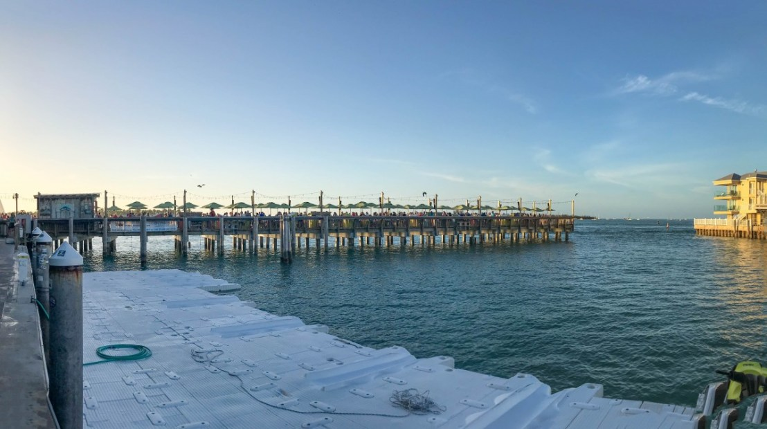 Sunset Pier Near Mallory Square