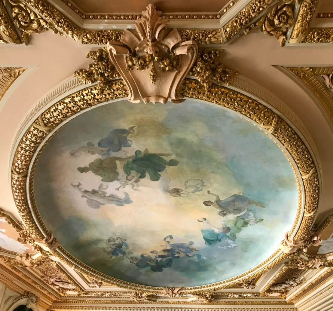 Whitehall Grand Hall Ceiling