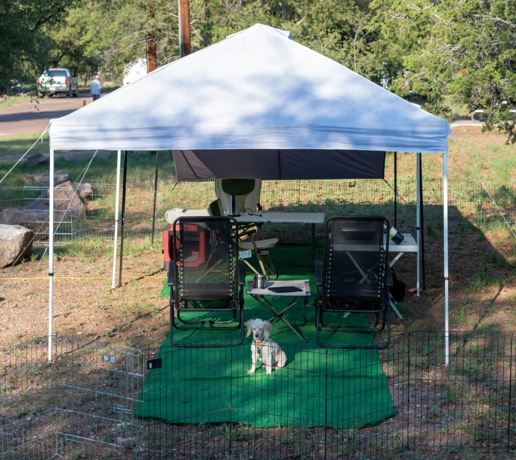 Campsite Shade Shelters