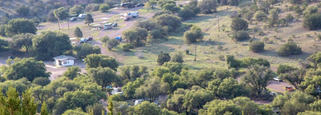 Campgrounds As Seen From Montezuma Quail Trail