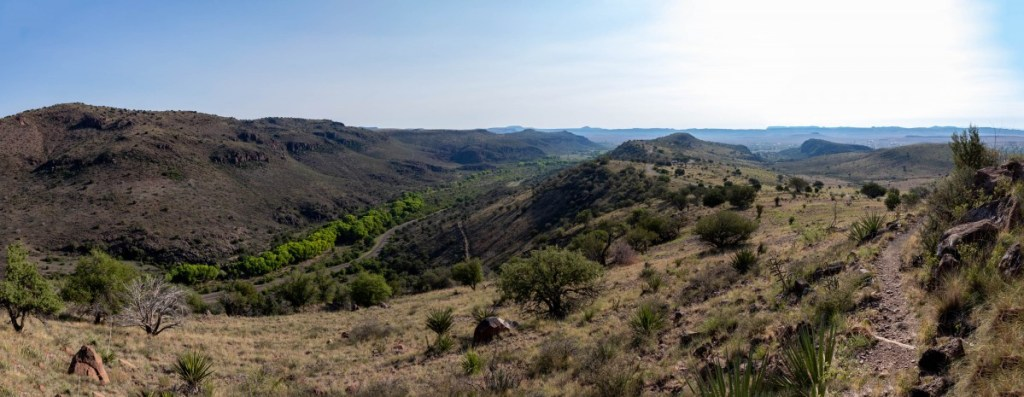 Views Toward Fort Davis
