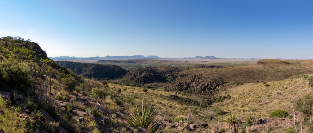 View Looking Toward Fort Davis and Marfa