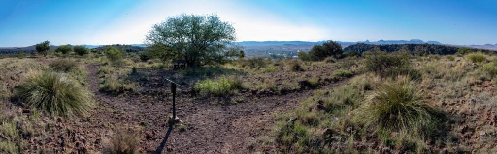 Northridge Trail Passes Hospital Canyon Trail