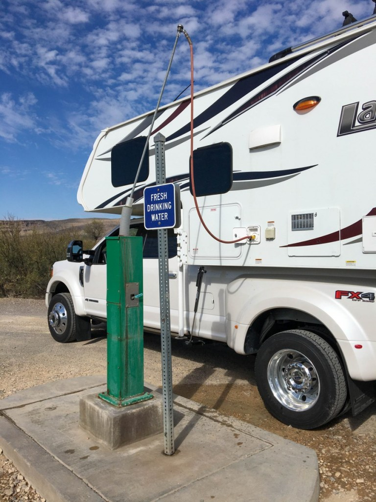 Using Potable Water Filling Station