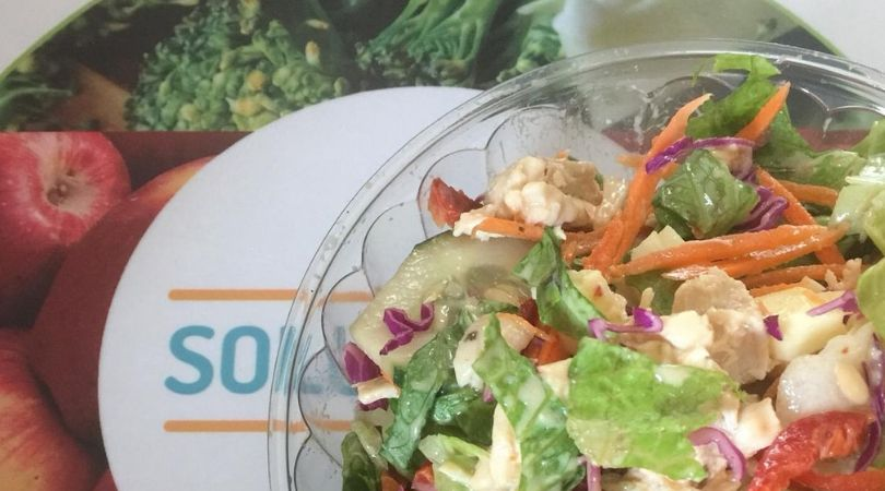 gluten free salad from goleka cartagena