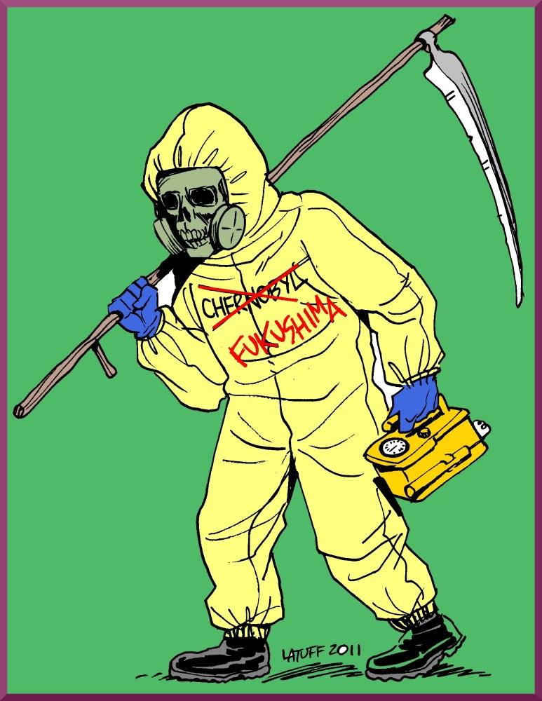 Chernobyl..1 million dead so far..Fukushima could be worse. (1/5)